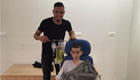 Tottenham star pays visit to hospital on day off