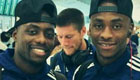 PHOTO: Berahino rallies WBA ahead of Man Utd clash