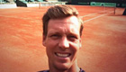 Photo: Czech Republic ace Tomas Berdych relishing Davis Cup semi-final