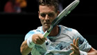 Berdych eyes more milestones in Wawrinka final