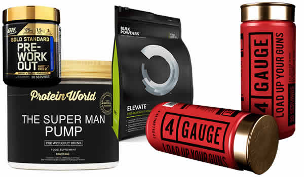 The best pre workout supplements