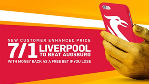 Betting tips: Augsburg v Liverpool odds, kick-off time and betting preview