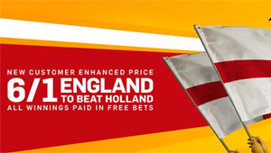 Betting tips: England v Netherlands odds, kick-off time and betting preview