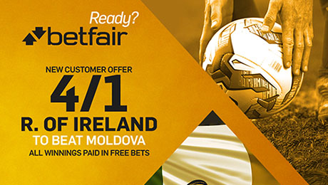 Wales v Georgia and Moldova v Rep of Ireland: Enhanced odds, kick-off time and betting tips