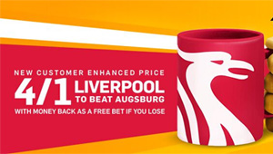 Betting tips: Liverpool v Augsburg odds, kick-off time and betting preview