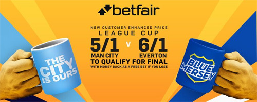 man city enhanced odds