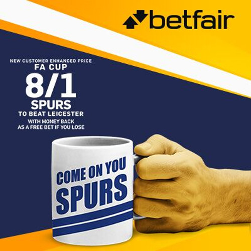 tottenham enhanced odds