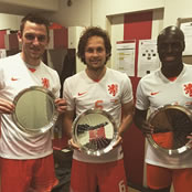 Blind celebrates Netherlands milestone