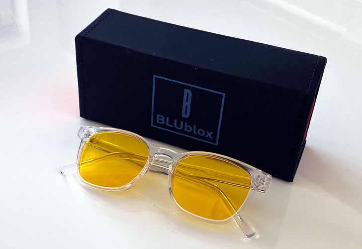 BLUblox SummerGlo Glasses with Box