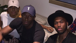 Photo: Liverpool's Daniel Sturridge chills with Olympic champion Usain Bolt