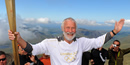 London 2012: Flame climbs Snowdon and rides on lifeboat