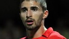Liverpool's Fabio Borini reacts to Arsenal red card on Twitter