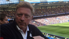 Photo: Tennis legend watches Chelsea beat Arsenal