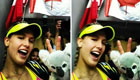 Bouchard takes 'winning selfie' with fan's phone