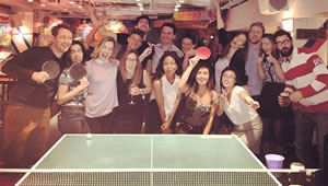 The Sport Review celebrates 100,000 Facebook fans at Bounce Old Street
