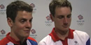London 2012 Olympics: Brownlee brothers didn't plan photo-finish