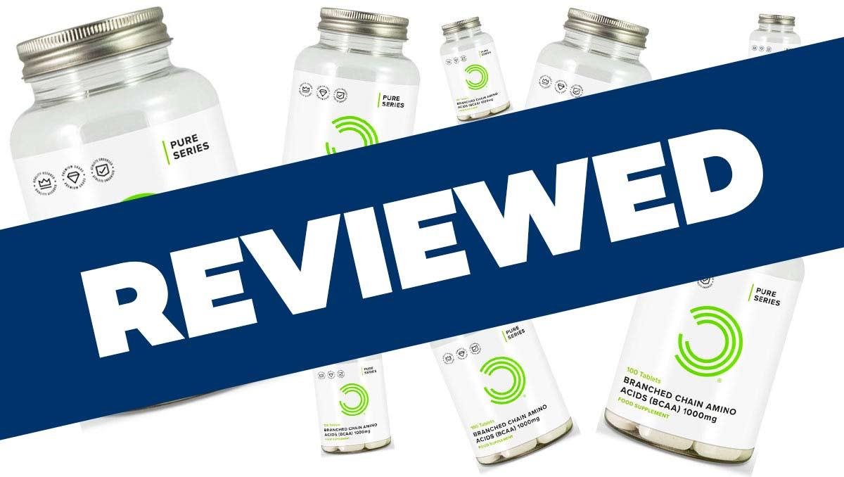 Bulk Powders BCAA Tablets review