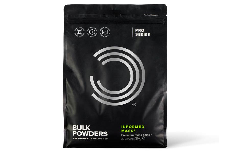 Bulk Powders Informed Mass
