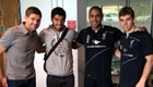 Photo: Luis Suárez bids farewell to Liverpool team-mates