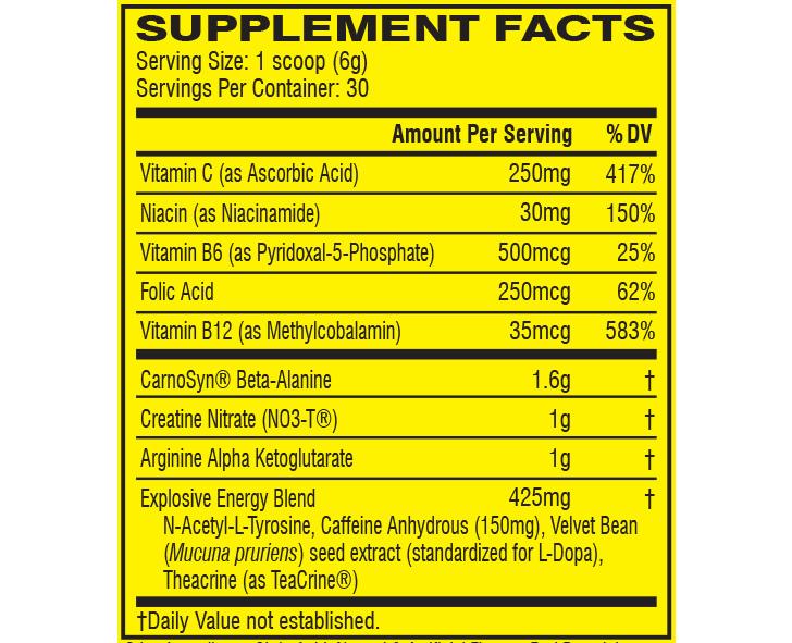 c4 ingredients
