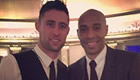 Photo: Chelsea defender snaps picture with Arsenal legend Henry