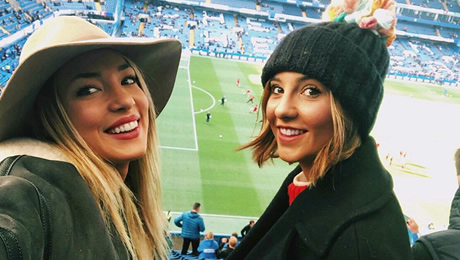 Photo: Alvaro Morata's wife watches Chelsea striker at Stamford Bridge
