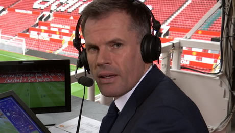 Jamie Carragher reacts to Tottenham's 4-0 win over Bournemouth