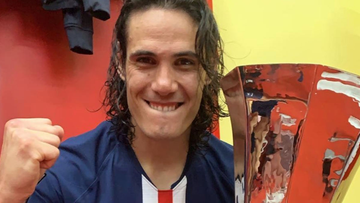 Man United striker Edinson Cavani (Photo: Edinson Cavani / Instagram)