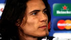 Arsenal boss Wenger sings Cavani's praises