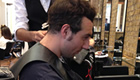 Photo: Arsenal star Cazorla fails to control hairdresser situation