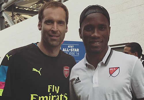 cech and drogba