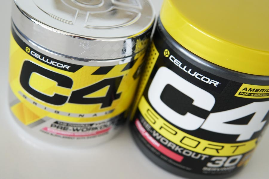Cellucor C4 vs C4 Sport