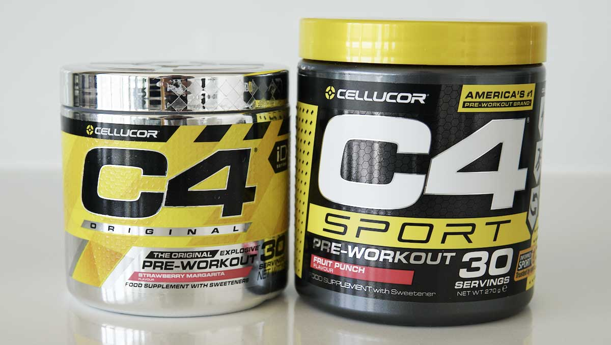 Cellucor C4 vs C4 Sport Pre Workouts