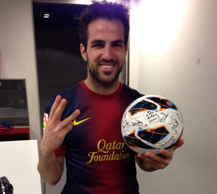 (Photo: Cesc Fabregas / Instagram)