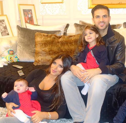 cesc fabregas family