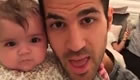 Photo: Cesc Fabregas enjoys family time ahead of Spurs v Chelsea