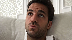 Photo: Fabregas sends message to Costa ahead of Chelsea v Man Utd