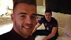 Photo: Arsenal star Calum Chambers snaps selfie with England U21 team-mate