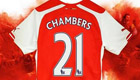 Arsenal hand new signing Calum Chambers No21 shirt