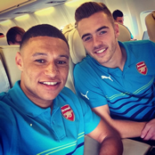 Photos: Arsenal jet off to Turkey for Besiktas clash