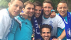 Chelsea celebrate titles with victory parade