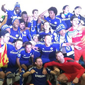 Chelsea stars celebrate Premier League title