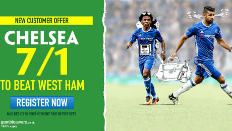 West Ham v Chelsea: 7/1 enhanced odds, kick-off time, TV channel and prediction