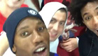 Drogba and Hazard sing festive favourite