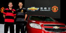 Manchester United sign £25m-a-year shirt deal with Chevrolet
