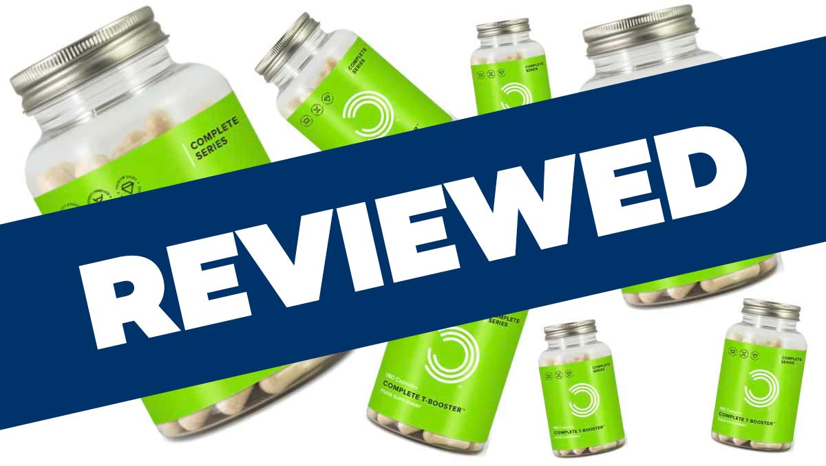 Complete T-Booster Bulk Powders Review