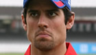 England v India: Alastair Cook pays tribute to wife after series win