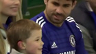 Watch Costa show his softer side