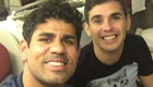 Costa all smiles ahead of Arsenal clash