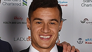 Photo: Liverpool's Philippe Coutinho sends heartfelt message to defender